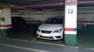 Parcela de garaje